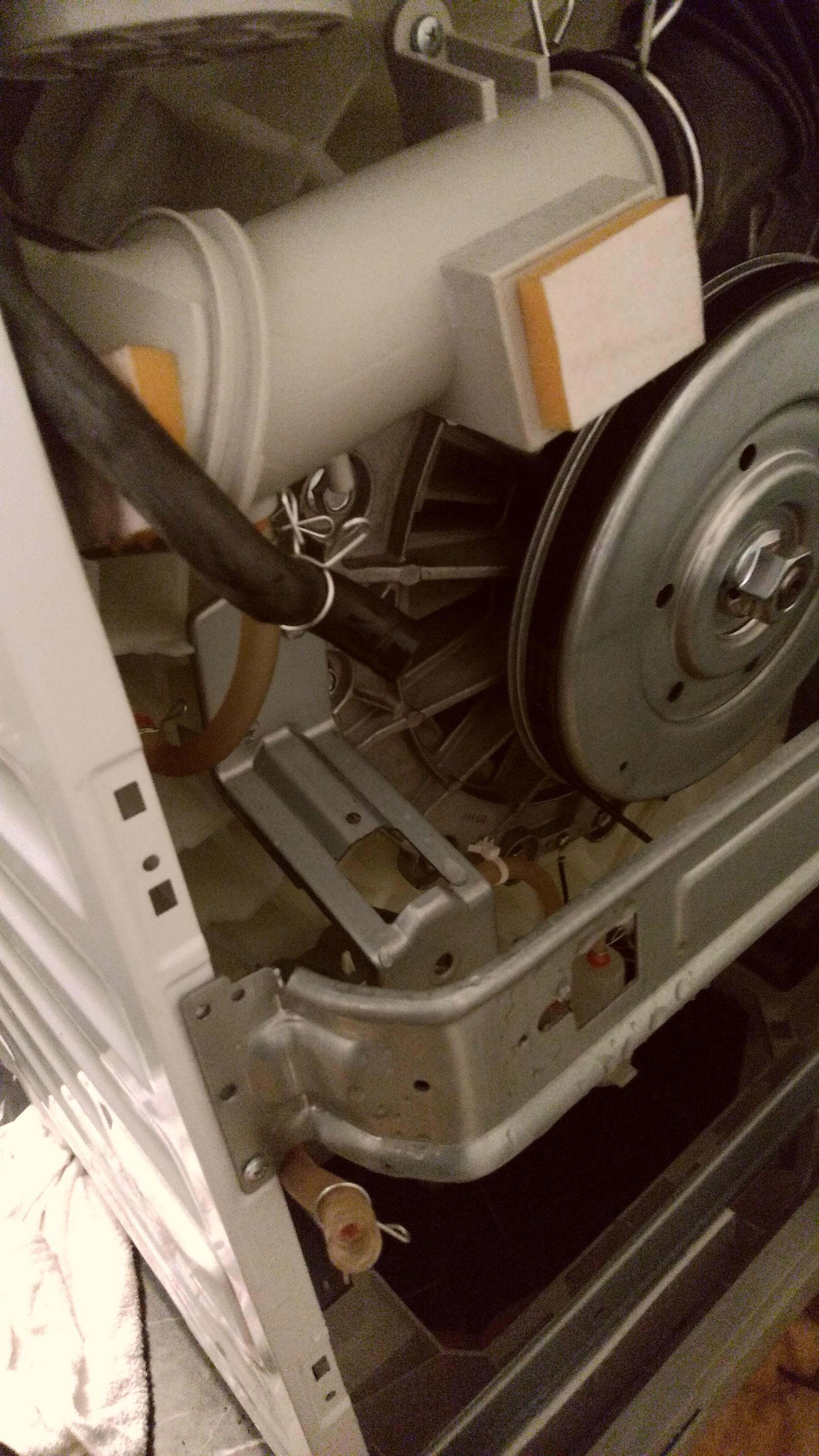 ドラム式洗濯機修理【乾燥しない】