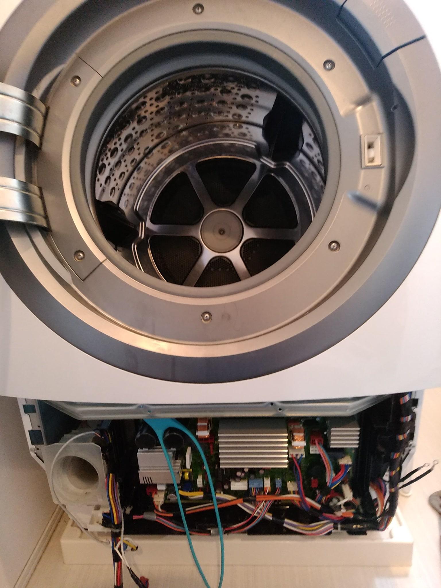 ドラム式洗濯機エラーU-11